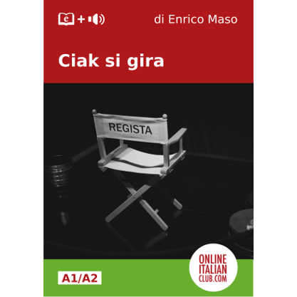 Ciak, si gira - Simplified Italian e-book