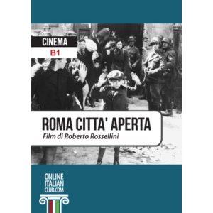 Cover image: 'Roma città aperta', Italian easy reader