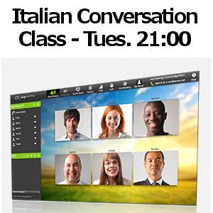 Online Italian conversation class