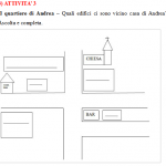 Third A1 (elementary) Italian listening comprehension exercise
