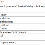New Italian listenings at A2 level, and a reminder…