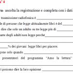 Fourth B1 (intermediate) Italian listening exercise