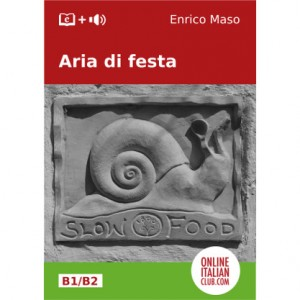 'Aria di festa', original Italian easy reader e-book