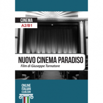 Easy Italian reader: 'Nuovo Cinema Paradiso', cover image
