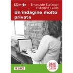 Italian easy reader, cover image: Un'indagine molto privata