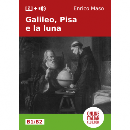 Italian easy readers - Galileo, Pisa e la luna - cover image