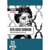 Ieri, oggi, domani - Italian easy readers - cover image