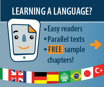 Easy readers and parallel texts for learning languages