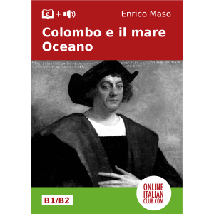 Italian easy readers - Colombo e il mare Oceano - cover image