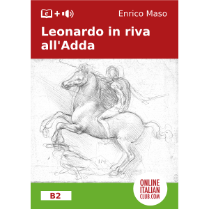 Easy Italian readers - Leonardo in riva all'Adda - cover image