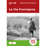 La Via Francigena - Easy Italian reader ebook - cover image