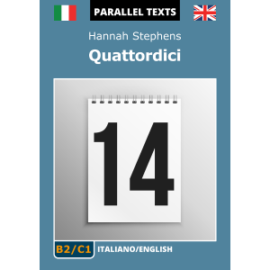 Italian-English parallel text ebook - Quattordici - cover image