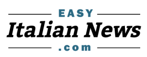 Logo of EasyItalianNews.com - read and listen to easy news stories in Italian