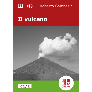 Easy Italian readers - Il vulcano - cover image
