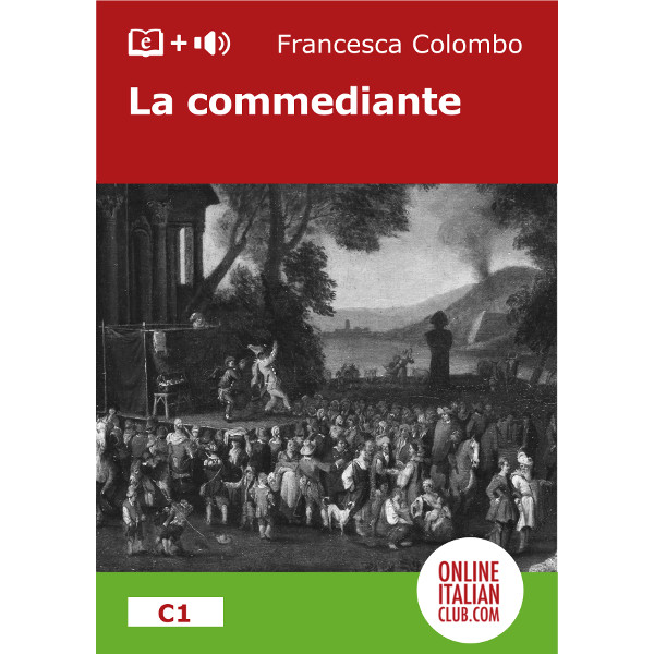Easy Italian reader ebook - La commediante - cover image