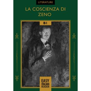 Easy Italian reader ebooks - La coscienza di Zeno - cover image